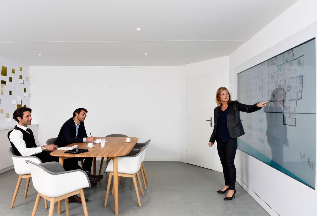 Poste Immo presente son futur Business Center avec BLIWE