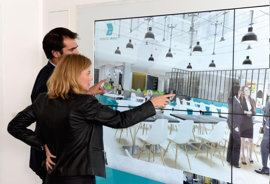 Un showroom innovant