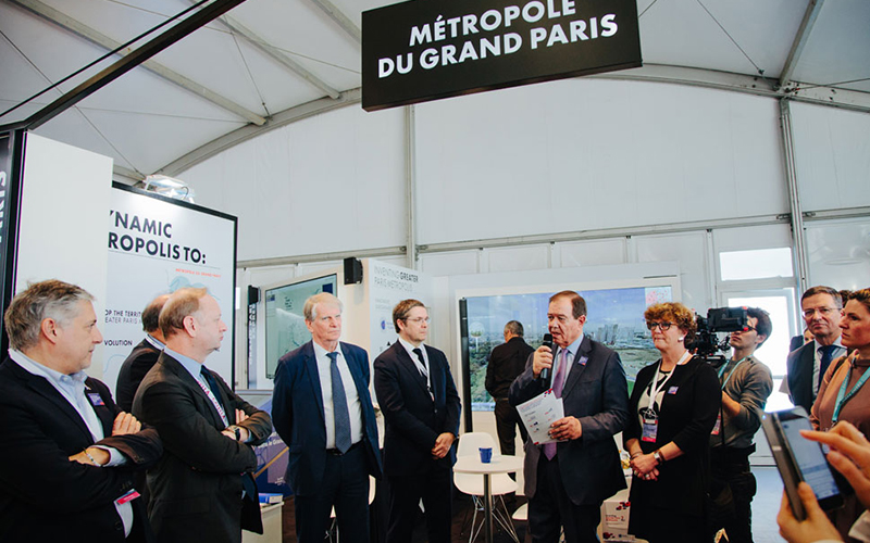 Métropole du Grand Paris - MIPIM 2018